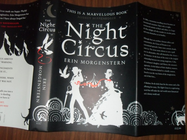 The Night Circus front cover. Image used with permission of Aleksandra @ Aleksandra's Corner